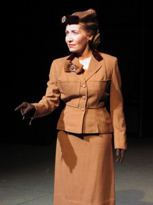 Liz as Evita Perón in Evita