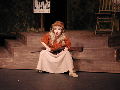 Liz as Annie Oakley
