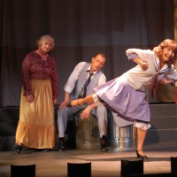 Liz as the great Fanny Brice in Funny Girl